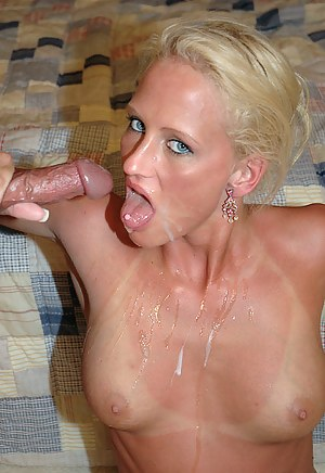 Free Cum in Mature Mouth Porn Pictures